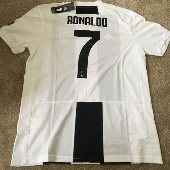 d16d0fec54a Juventus Home 18 19 Jersey UCL version RONALDO 7